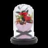 Bouquet avec 3 roses éternelles rouge - Autour d'Elle